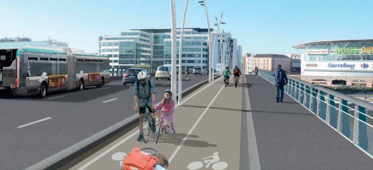 Aménagement de pistes cyclables définitives entre Ivry-sur-Seine et Charenton-le-Pont