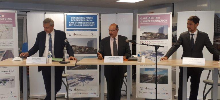 La signature du permis de la gare SNCF de Bry-Villiers-Champigny devrait booster les projets alentours
