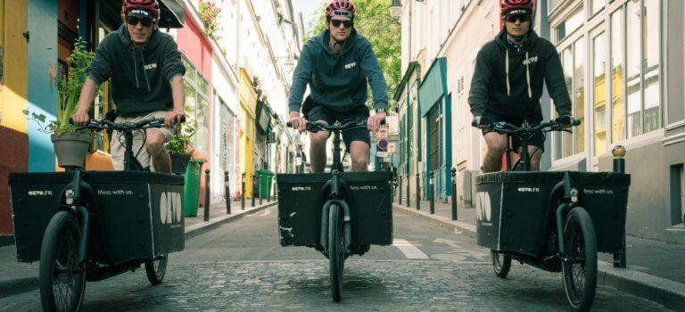 Paris – Ile-de-France : le boom des artisans et PME en vélo cargo