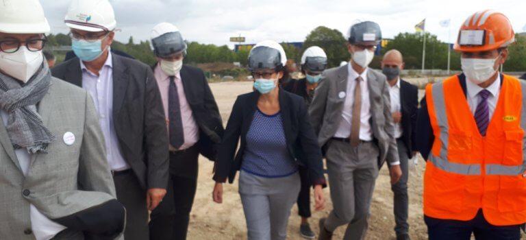 Rénovation urbaine: Emmanuelle Wargon à Choisy-le-Roi