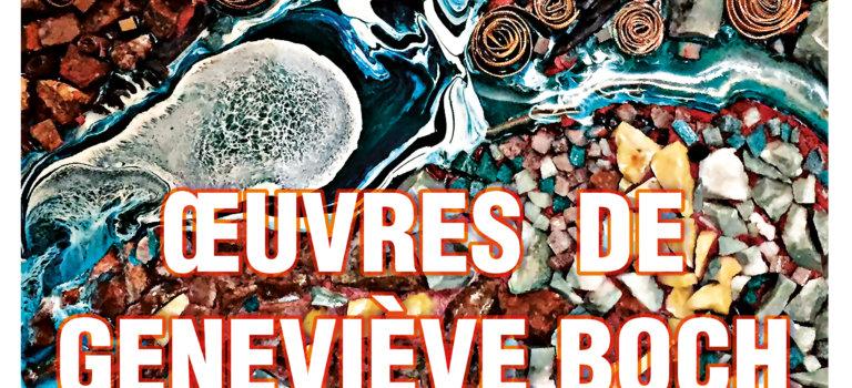 """Exposition """"Oeuvres Artistiques de Geneviève Boch"""" à Limeil-Brévannes"""