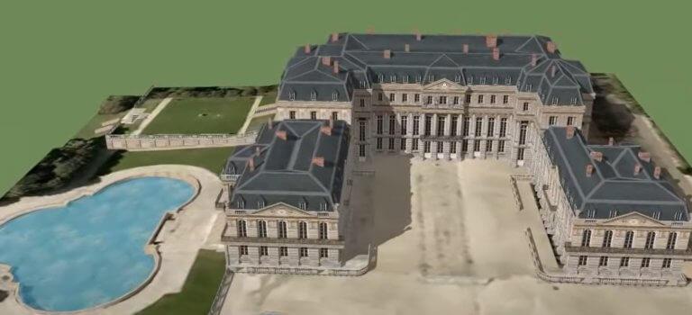 150 ans après, il veut reconstruire le château de Saint-Cloud