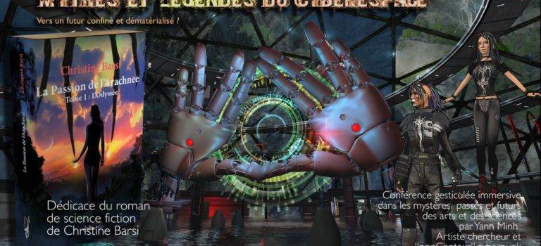 Dédicace et conférence gesticulée immersive sur les Mythes et Légendes du Cyberespace à Nogent