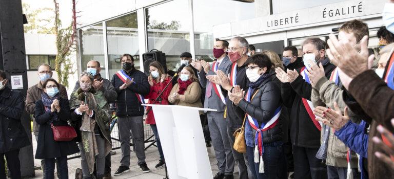 Les hommages à Samuel Paty se multiplient en Val-de-Marne