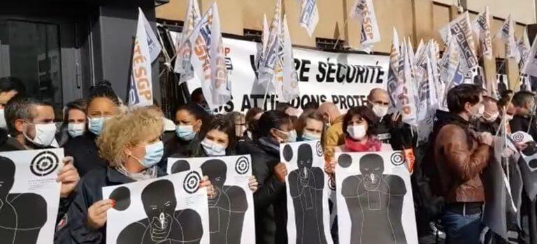 Ebullition politique et ras-le-bol policier après l'attaque du commissariat de Champigny-sur-Marne