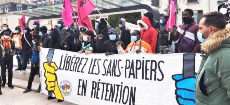 La marche des sans-papiers a fait étape à Vitry-sur-Seine