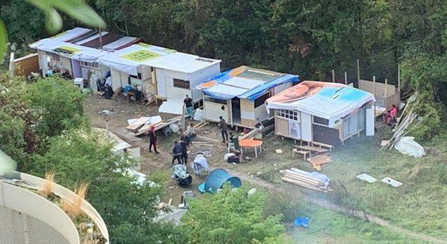 Arcueil: un bidonville rom en place du futur projet Ecotone