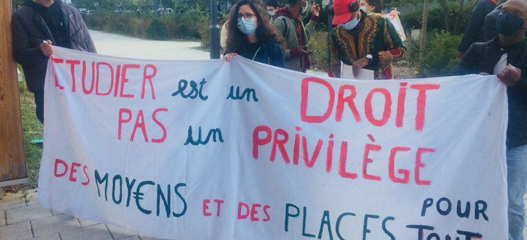 Université de Nanterre: la mobilisation se poursuit pour les « sans-facs »