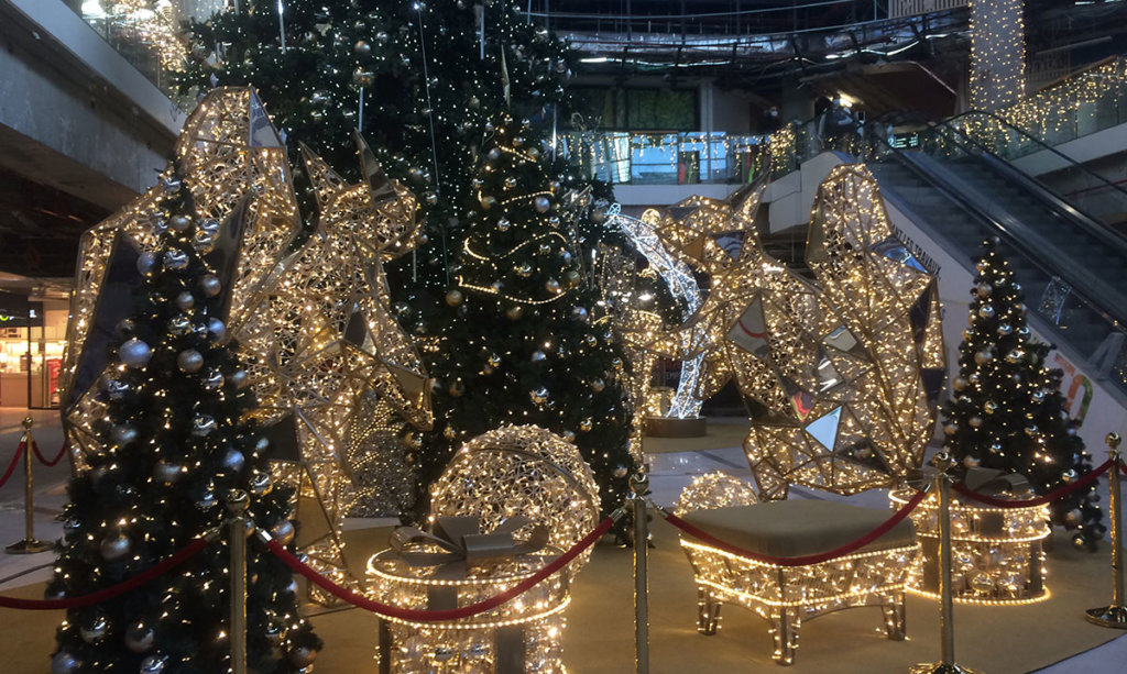 Décorations de Noël au 4 Temps