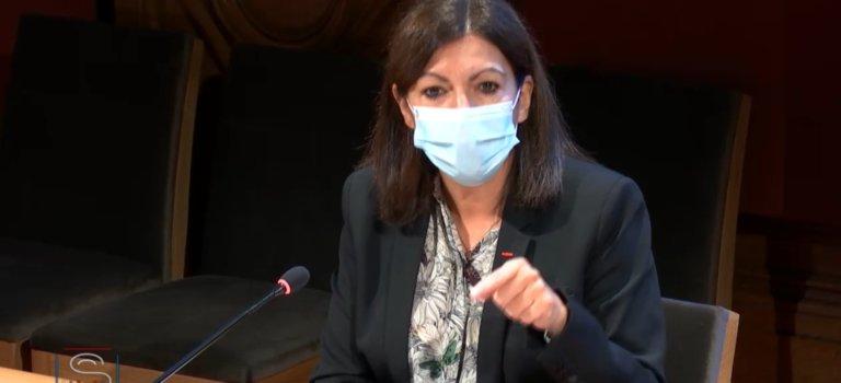 Anne Hidalgo confirme son opposition à un confinement de Paris le week-end