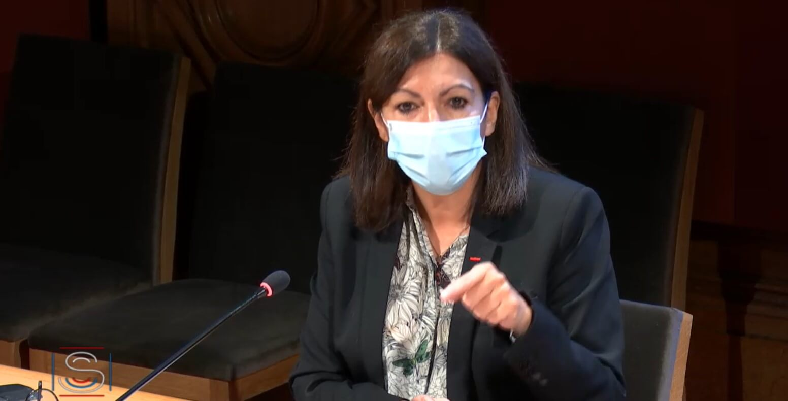 Anne Hidalgo confirme son opposition à un confinement de Paris le week-end