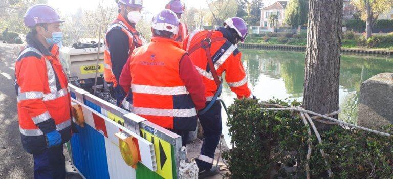 Le Val-de-Marne anticipe les inondations en fermant ses brèches