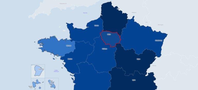 Baromètre du coronavirus en Ile-de-France: point au 9 novembre