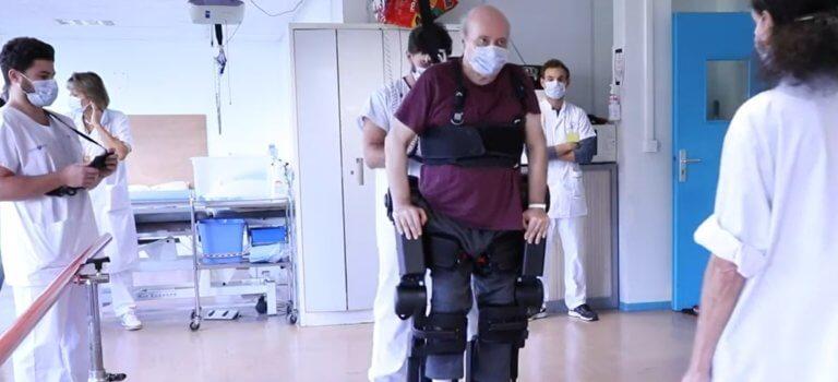 Créteil: Chenevier, premier hôpital public à se doter d'un exosquelette autoéquilibré