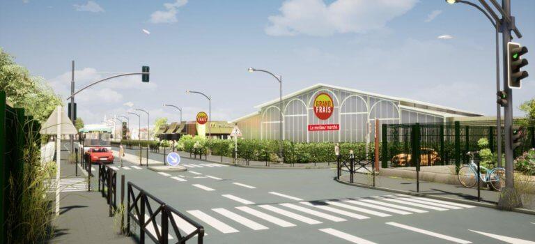 Grand Frais et McDonald's signent à La Queue en Brie