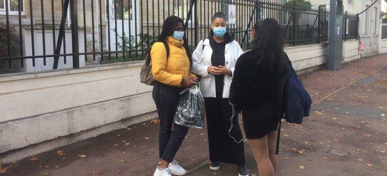 Nanterre: rentrée lycéenne calme mais pas sans questionnement à Louise Michel