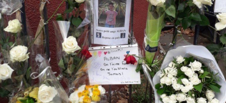 Cachan: marche blanche à la mémoire d'Alban