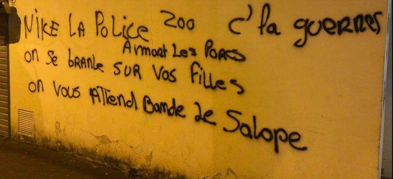 L'Haÿ-les-Roses: tags anti-police visant nommément des agents