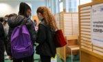 Paris: premiers tests antigéniques au lycée Emile Dubois
