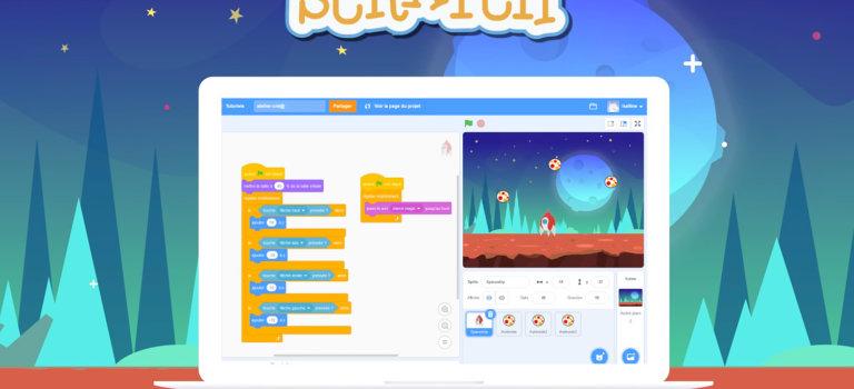 Code ton premier jeu vidéo avec Scratch 3.0: atelier en ligne
