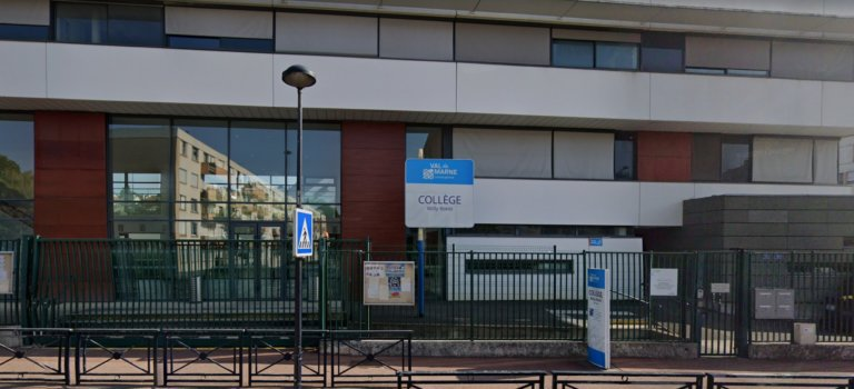 Champigny-sur-Marne: opération collège mort à Willy Ronis