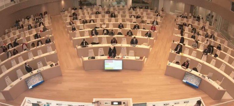 Le Conseil régional d'Ile-de-France a voté son budget 2021