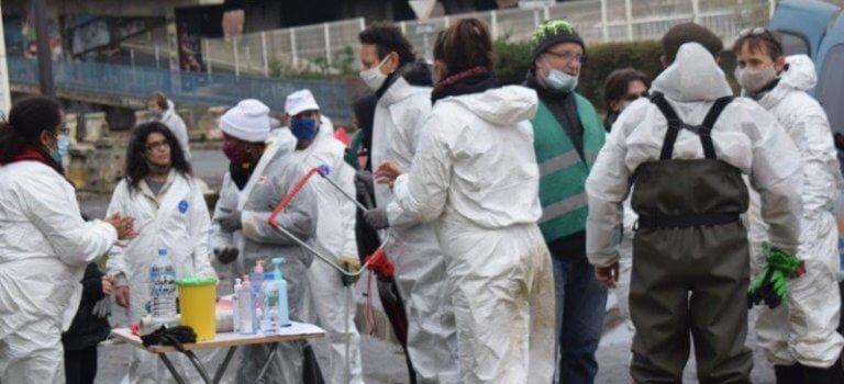 Ivry-sur-Seine: une tonne de déchets ramassés sur les berges