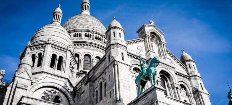 Paris: le Sacré-Coeur  Montmartre inscrit aux monuments historiques