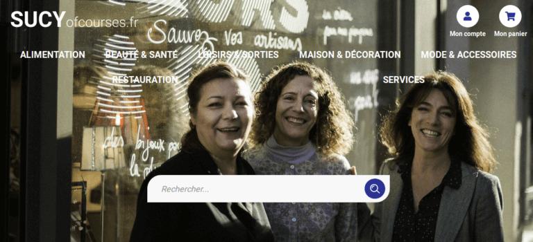 Un site e-commerce pour les magasins de Sucy-en-Brie