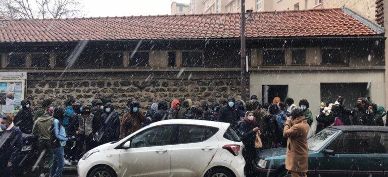 Paris met à disposition 2 gymnases après l'occupation d'une ancienne école par des migrants