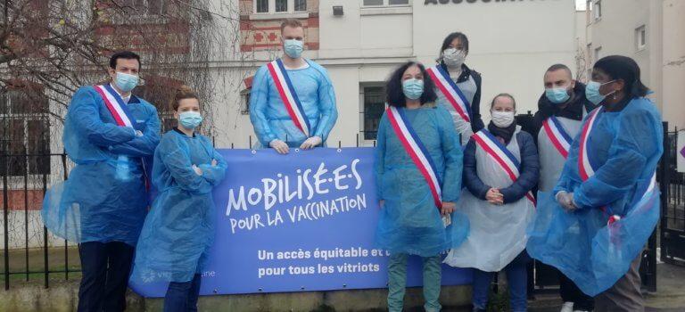 Vitry-sur-Seine veut son centre de vaccination