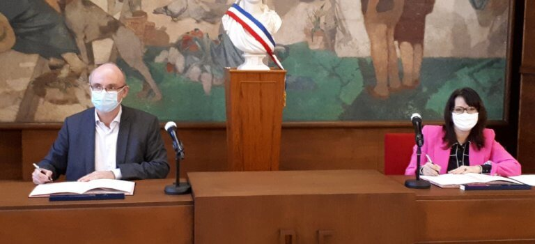 Coup d'envoi de l'éco-quartier de la gare Grand Paris Express à Cachan