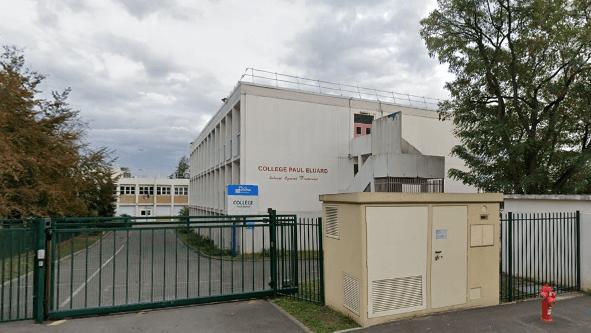 Bonneuil-sur-Marne: collège Paul-Eluard provisoire pendant la réhabilitation
