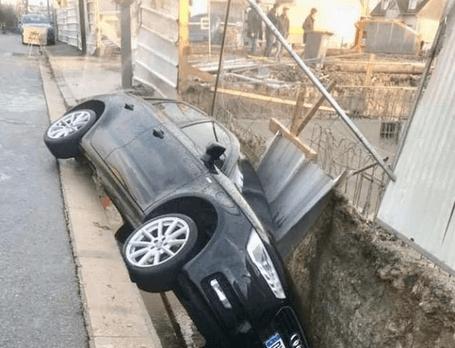 Villiers-sur-Marne: l'effondrement de chaussée près du chantier fait polémique