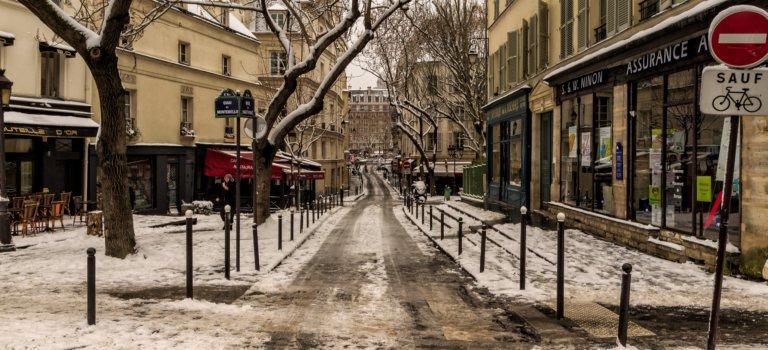 Alerte météo orange neige en Ile-de-France