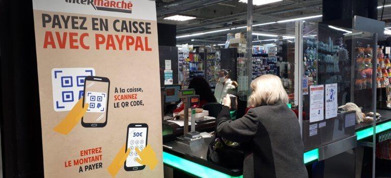 Maisons-Alfort: Intermarché Juilliottes teste le paiement par Paypal