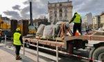 Choisy-le-Roi : retour de la statue de Rouget de Lisle après deux ans de repos