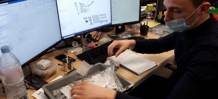 A Marolles-en-Brie: 3 D Medical imprime des implants sur-mesure