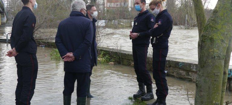 Crue hivernale en Val-de-Marne: stabilisation mais la pluie guette toujours