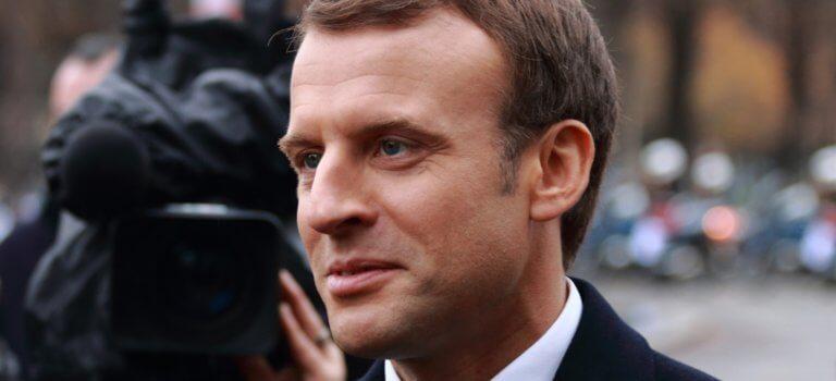 Villejuif: Emmanuel Macron à l'Institut Gustave Roussy