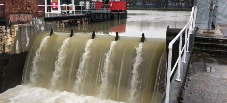 Crue de la Marne: la vanne de Joinville activée pour la 1ère fois depuis 30 ans