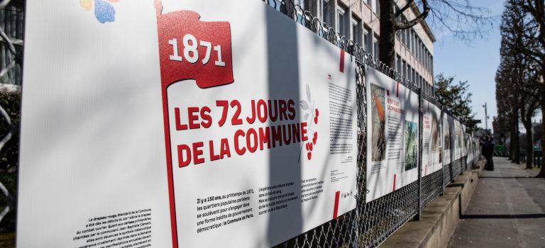 150ème anniversaire de la commune de Paris: expo à Bonneuil-sur-Marne