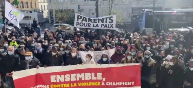 Champigny-sur-Marne se mobilise contre les rixes entre jeunes
