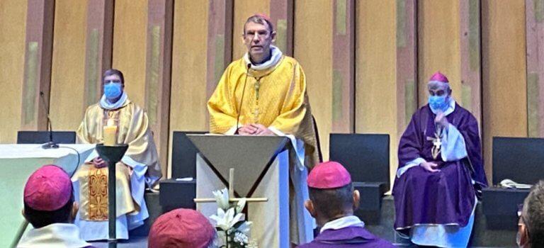 Dominique Blanchet, nouvel évêque de Créteil a pris ses fonctions