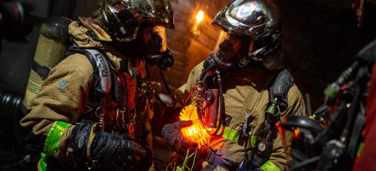 Pantin: 9 heures de lutte et recours aux drones et robots pour éteindre l'incendie
