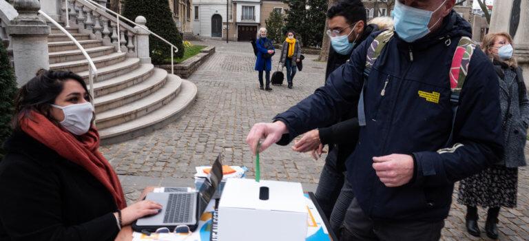 La France insoumise lance sa votation sur l'eau depuis Gentilly