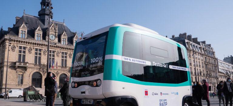 Une navette autonome entre la Porte jaune et la mairie de Vincennes