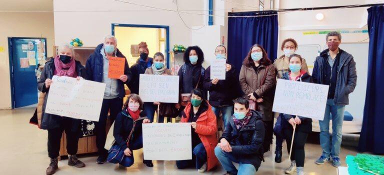 Ivry-sur-Seine: occupation de l'école Einstein pour réclamer le remplacement des profs absents