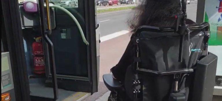 Accessibilité: l'APF Val-de-Marne témoigne de la galère des usagers du bus