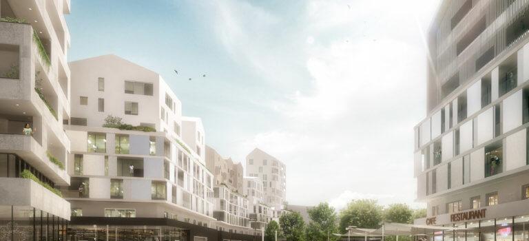 A Créteil, l'urbanisation du triangle de l'Echat réajustée au regard de la pollution